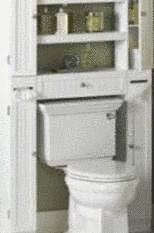 Am nager des rangements dans les toilettes tout pratique for Amenager les toilettes