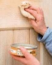 C ruser le bois tout pratique - Meuble ceruse blanc technique ...