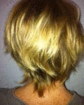 Coupe de cheveux courts tout pratique - Nuque courte effilee ...