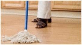 Nettoyer et entretenir un sol vinyle tout pratique for Produit pour nettoyer les tapis
