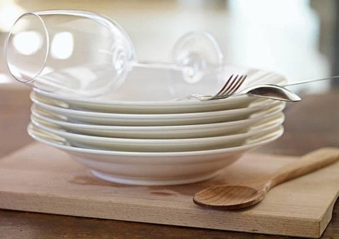 comment faire briller verre et vaisselle avec la rhubarbe