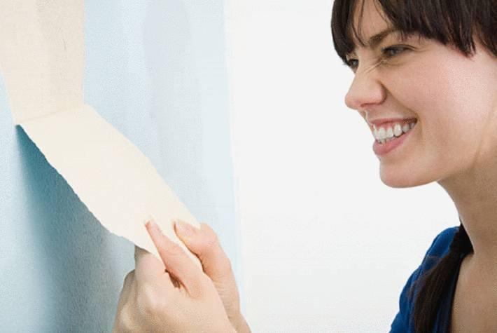 comment enlever du papier peint facilement tout pratique. Black Bedroom Furniture Sets. Home Design Ideas